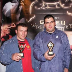 "Oleg Baroev and Alan Bibilov – winners of the tournament ""Wrestler Challenges"""