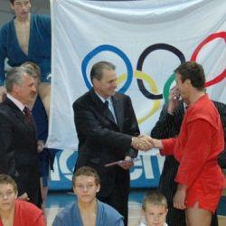 Sergey Yeliseyev, Jacque Rogge, Igor Kurinnoy
