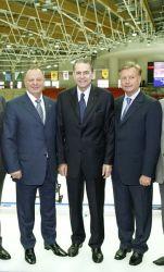 Boris Skrynnik, Jacque Rogge, Leonid Tyagatchev