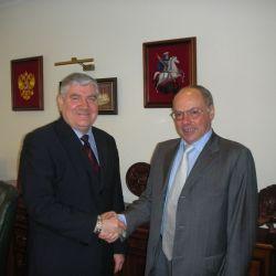 Михаил Степанянц и Жозе Дамиани
