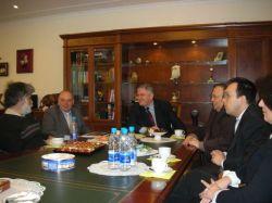 На встрече в Москомспорте с Жозе Дамиани