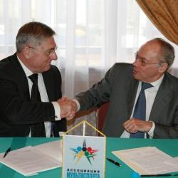 Юрий Родионов и Жозе дамиани