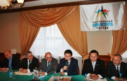 Plaksin, Rodionov, Damiani, Ilyumzhinov, Ptitsyn, Gavrilov