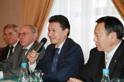 Rodionov, Damiani, Ilyumzhinov, Ptitsyn