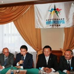 Damiani, Ilyumzhinov, Ptitsyn, Gavrilov