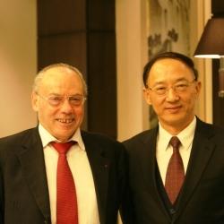 Jose Damiani and Liu Peng