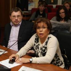 Олег Гадючкин и Ирина Роднина