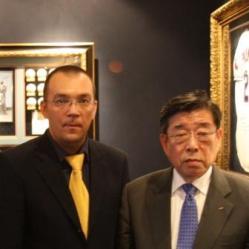 Алексей Кыласов и Ким Ун Ён