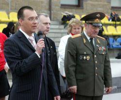 Алексей Кыласов и Юрий Родионов на церемонии награждения